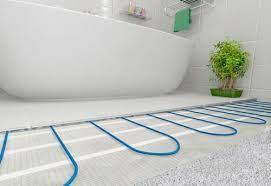 Тёплый пол для ванной
