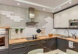Варианты оформления стен на кухне