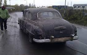 Реставрация автомобиля ГАЗ 12 ЗИМ