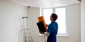 Особенности монтажа натяжных потолков