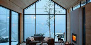 Виды отделки дома и панорамных окон в нем